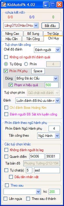 PK Chỉ HUy